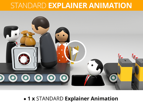 Accountant STANDARD Explainer Animation