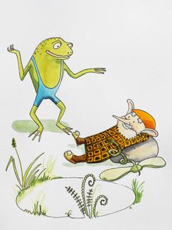 Žabák a lenoch