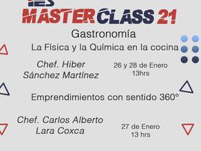 Master Class Gastronomía