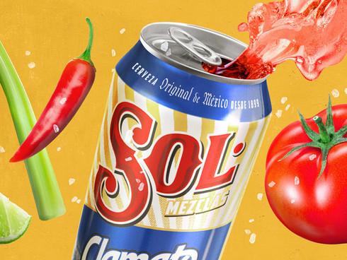 Cerveza Sol Mezclas