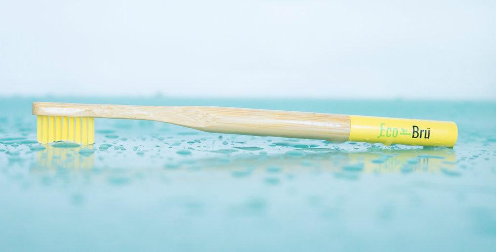 Yellow Bamboo Toothbrush