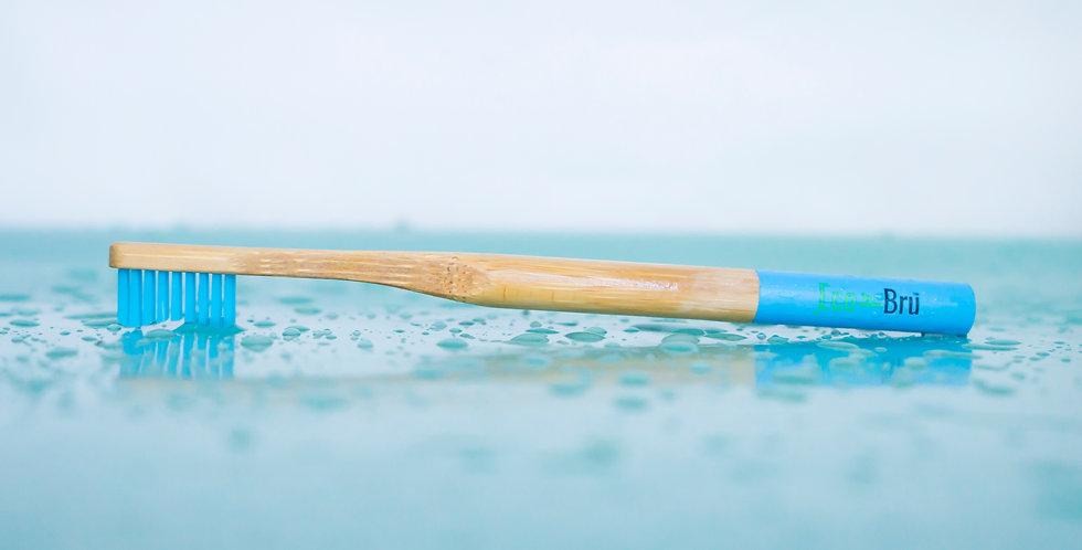 Blue Bamboo Toothbrush