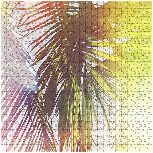 """Frond Magic"" - 500 Piece Fine Art Premium Puzzle"
