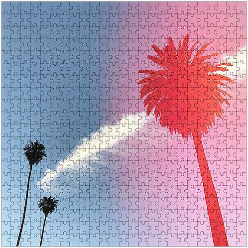 """""""Shrouded in Pink"""" - 500 Piece Fine Art Premium Puzzle"""