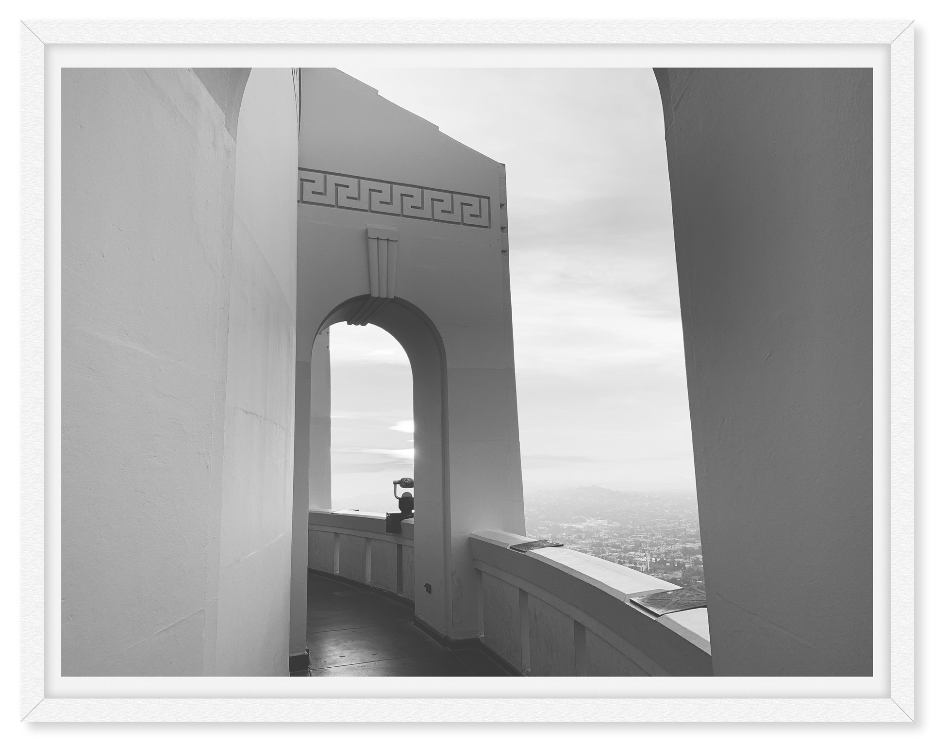 griffith park observatory sunrise arches