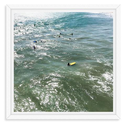 surfers ocean santa monica california wa