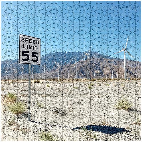 """""""55"""" - 500 Piece Fine Art Premium Puzzle"""