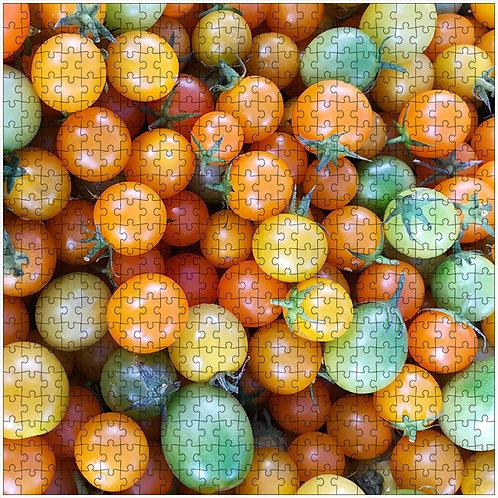 """Cherry Tomatoes"" - 500 Piece Fine Art Premium Puzzle"