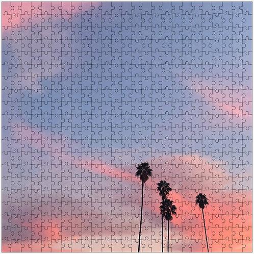"""Stroke of Pink"" - 500 Piece Fine Art Premium Puzzle"