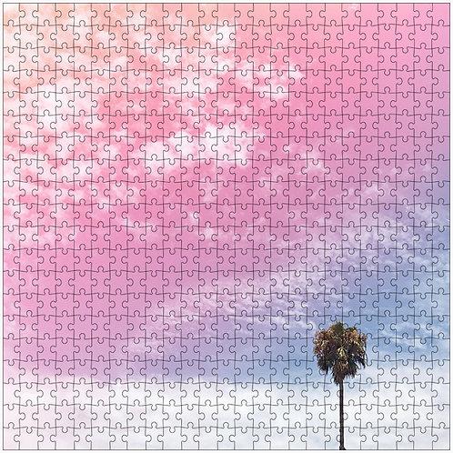 """Fade to Pink"" - 500 Piece Fine Art Premium Puzzle"