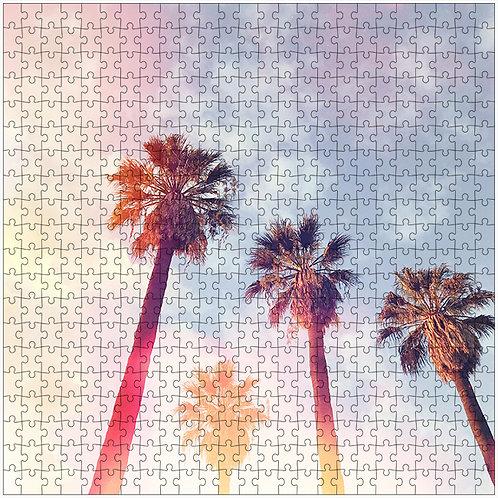 """Palms of Light"" - 500 Piece Fine Art Premium Puzzle"