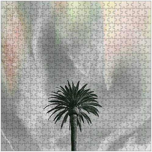 """Swirly Sky"" - 500 Piece Fine Art Premium Puzzle"