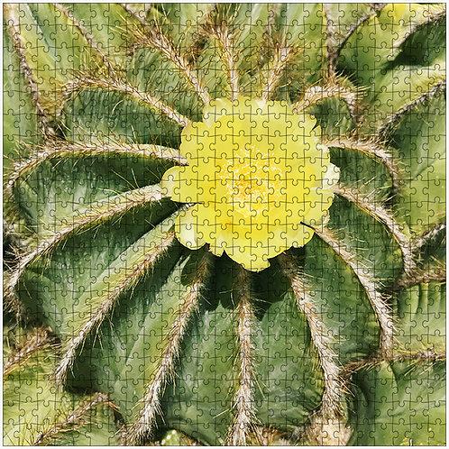 """Yellow Bloom"" - 500 Piece Fine Art Premium Puzzle"