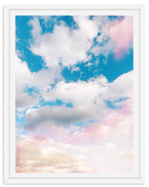 colorful cloudy sky sunset wall art leas