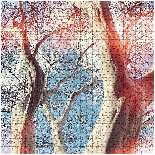 """Tree Coven"" - 500 Piece Fine Art Premium Puzzle"