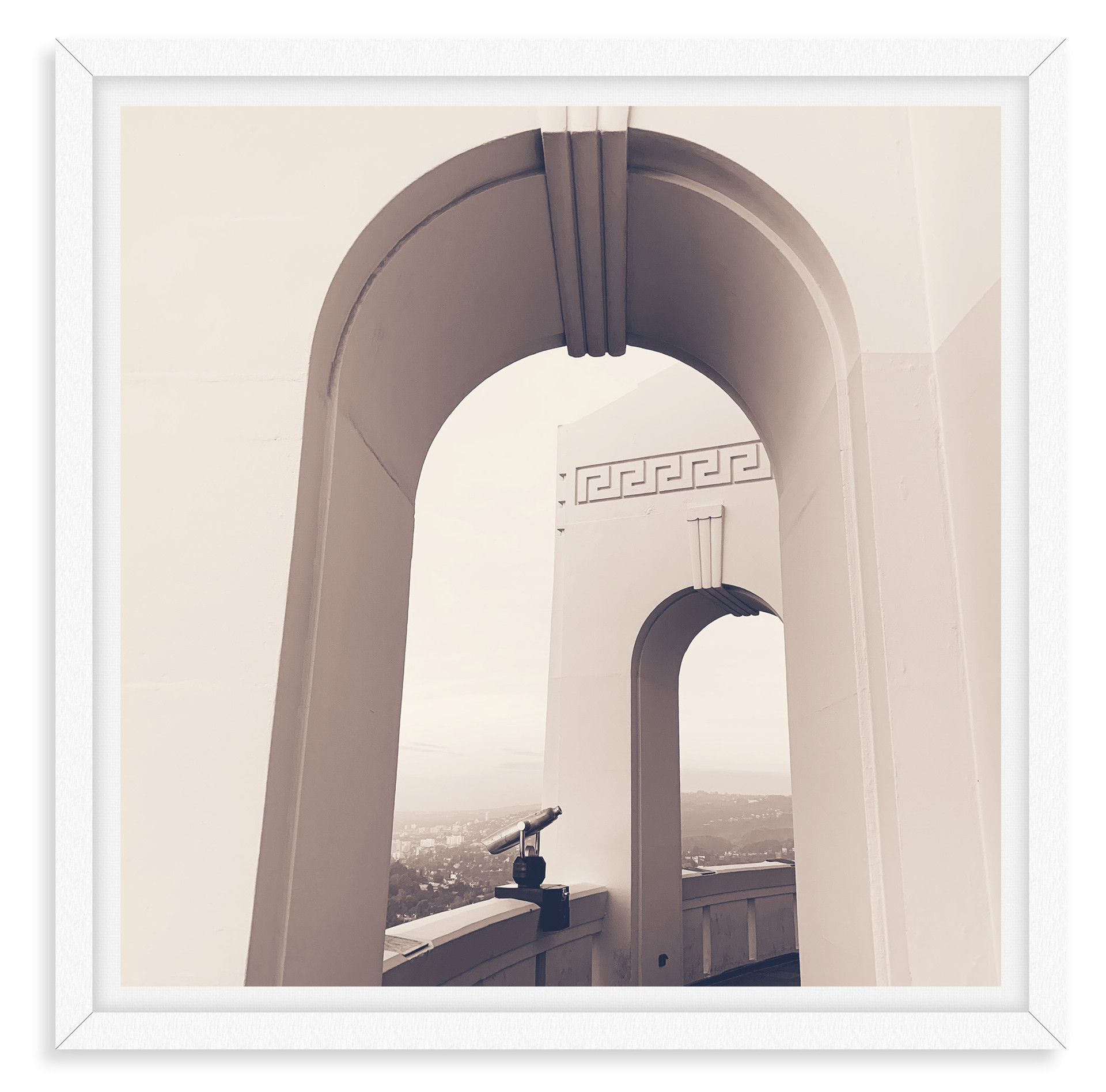 griffith park observatory arches archite