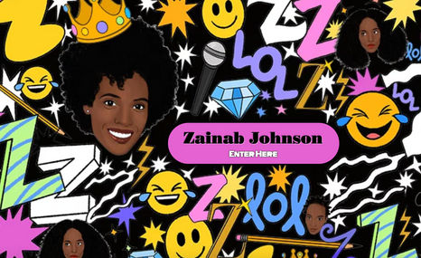 Zainab Johnson Stand up comedian.