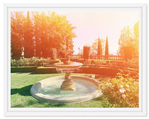 magical garden fountain wall art leasing