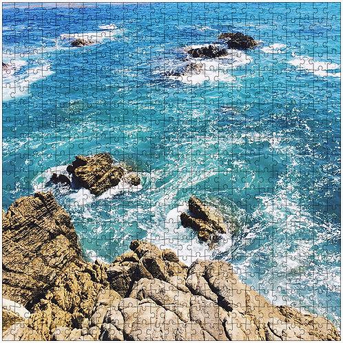 """""""Blue View"""" - 500 Piece Fine Art Premium Puzzle"""