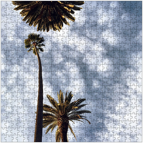 """A Little to the Left"" - 500 Piece Fine Art Premium Puzzle"