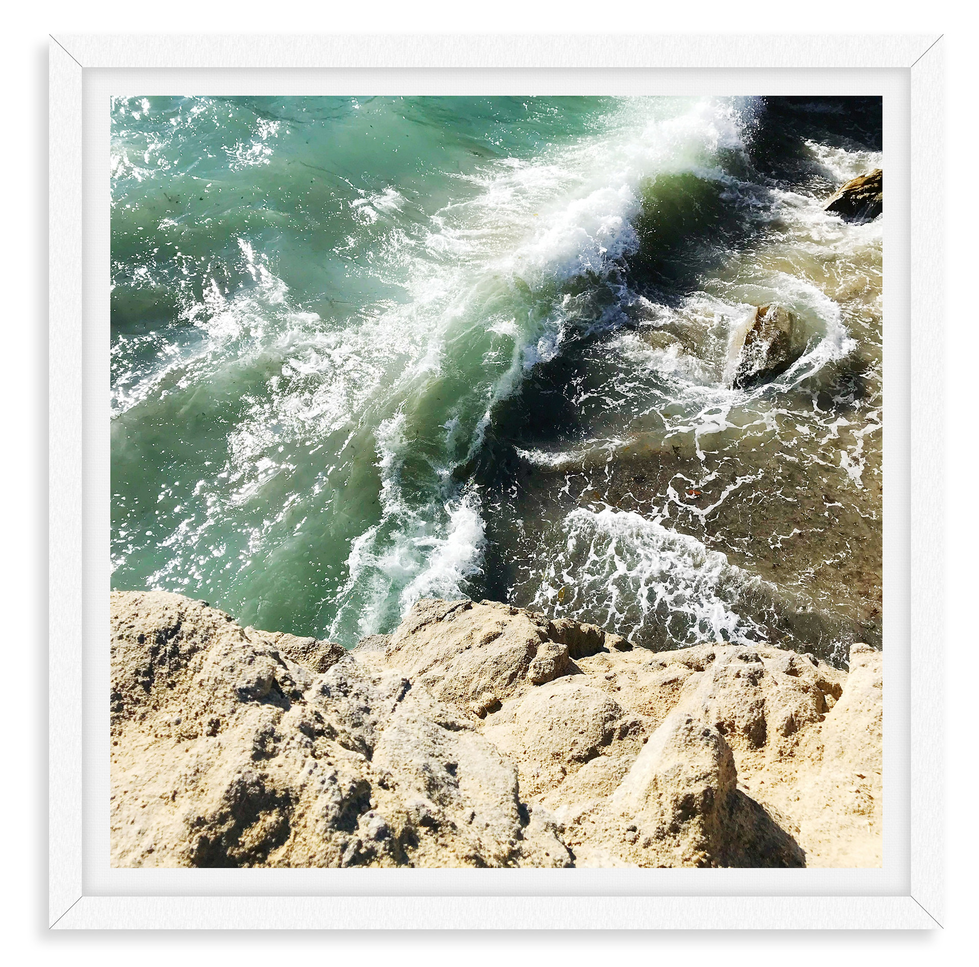 malibu cliffs beach frosty waves blue oc