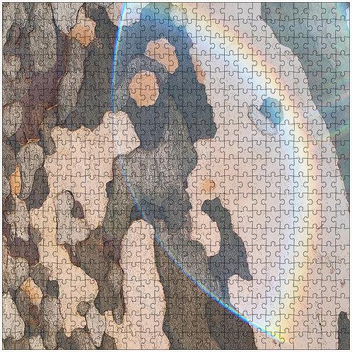 """Rainbow Bark"" - 500 Piece Fine Art Premium Puzzle"