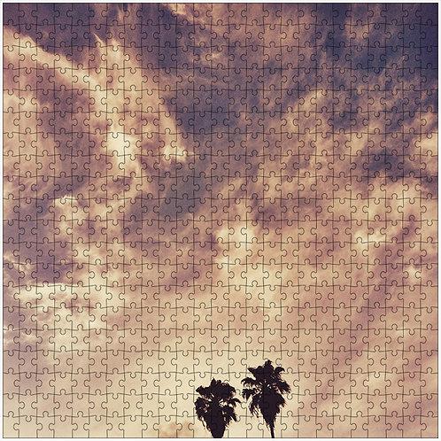 """""""Sky Flames"""" - 500 Piece Fine Art Premium Puzzle"""