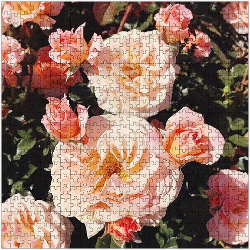 """Rose Garden"" - 500 Piece Fine Art Premium Puzzle"