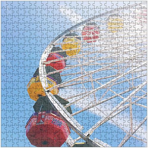 """""""Up and Around"""" - 500 Piece Fine Art Premium Puzzle"""