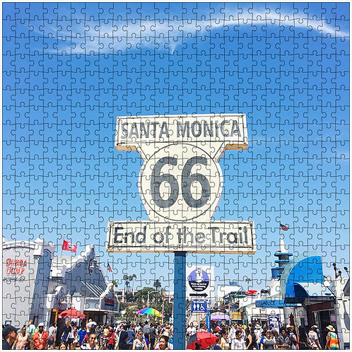"""Route 66"" - 500 Piece Fine Art Premium Puzzle"