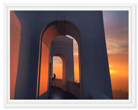 griffith park observatory sunrise sunset