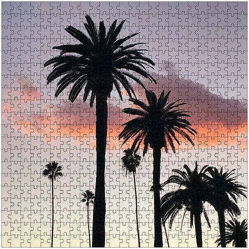 """The Pink Underneath 2"" - 500 Piece Fine Art Premium Puzzle"