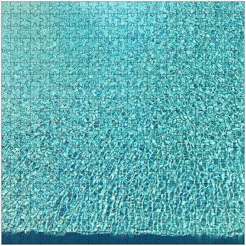 """""""Swimming Pool"""" - 500 Piece Fine Art Premium Puzzle"""