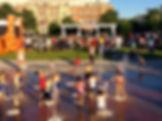 lansdowne shopping center fountain