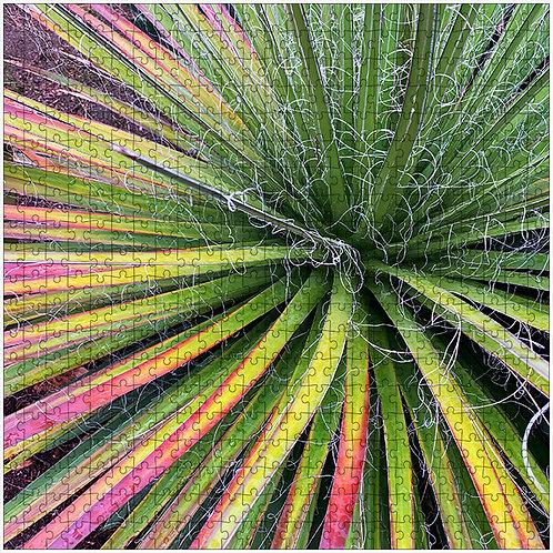 """""""Rainbow Spiral"""" - 500 Piece Fine Art Premium Puzzle"""