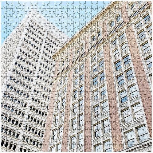 """Window Intersection"" - 500 Piece Fine Art Premium Puzzle"
