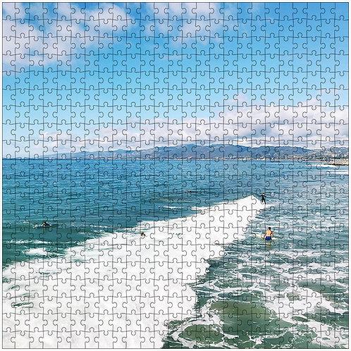 """Frosty Center"" - 500 Piece Fine Art Premium Puzzle"
