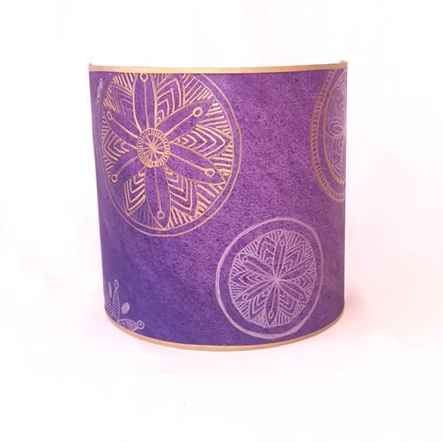Rosace violette