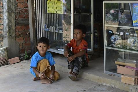 Çocuklar - Kamboçya