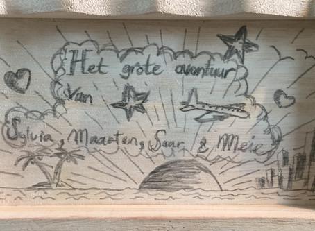 Het grote avontuur van Maarten, Sylvia, Saar en Meie