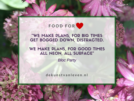 """We make plans, for big times'"