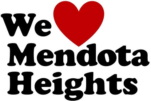 Logo for We Love Mendota Heghts