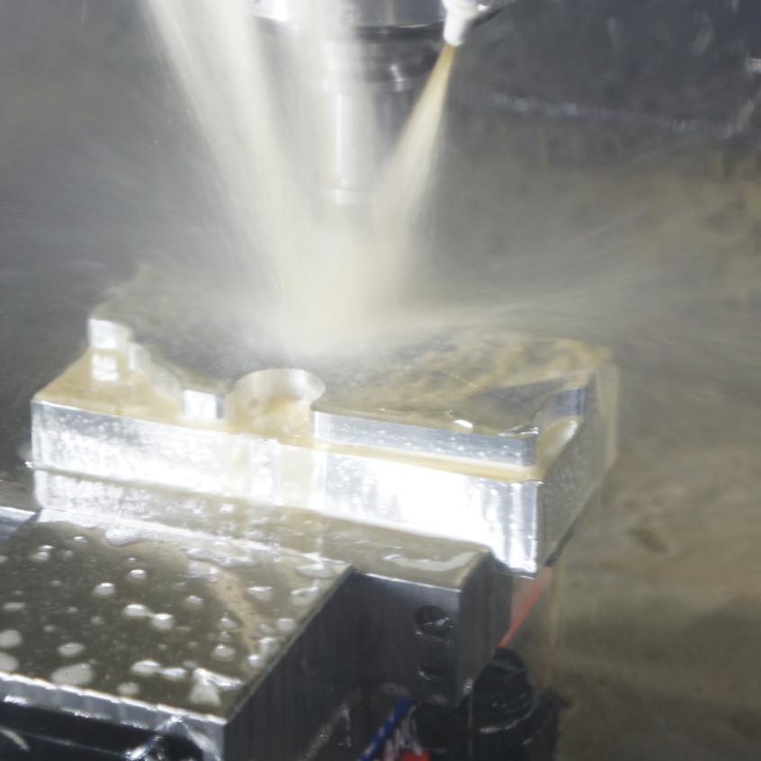 Lower A side machining