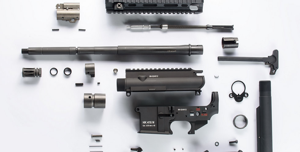 HAO 416N Conversion kit for MWS GBBR