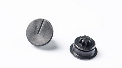Safety selector cap with gear