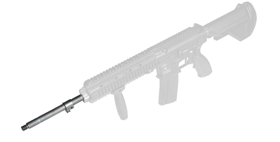 """HAO's M27 and 416N Look set - 6"""" Barrel extension and Bayonet Lug"""