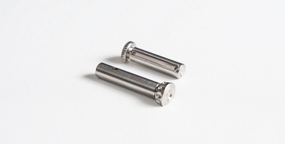 HAO's BD style Titanium takedown pin