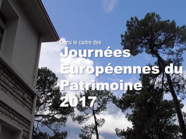 2017 - Les Journées Européennes du Patrimoine