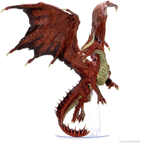 IOTR Dragon Rouge Adulte Premium