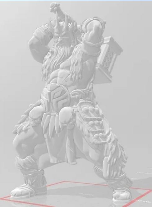 Géant de givre
